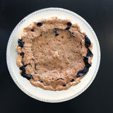 Blueberry Lime Crumb Pie