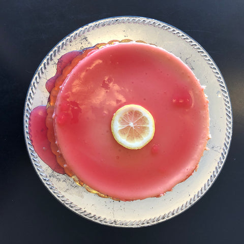 Pink Lemonade Cheesecake