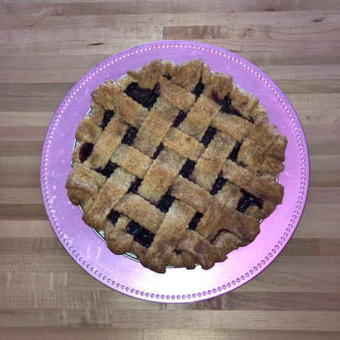 Cherry Craisin Lattice Pie