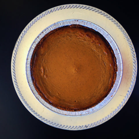 Pumpkin Pie w/ Gingersnap Crust
