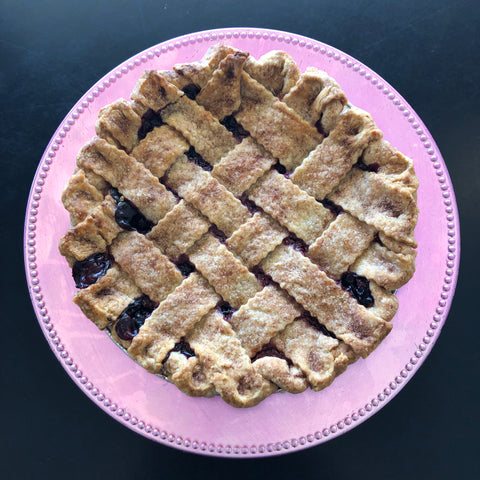 Razzleberry Lattice Pie