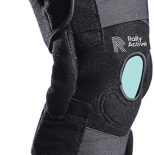 Hinged Knee Stabilizer - Rally Active