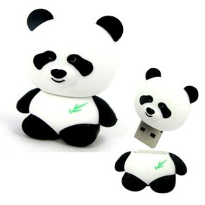 Panda 8 gb USB - Preloaded with all 3 Yuki vs. Panda books. - Duskleaf Media