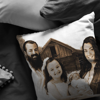Personalize Pillow-Scannable SAMPLE