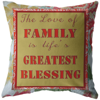 The Love Of Family - Pillow