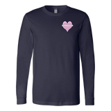 Heart- Long Sleeve Tee/Optional Video Scan