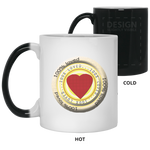 100% Loved PERSONALIZED Color Changing Mug