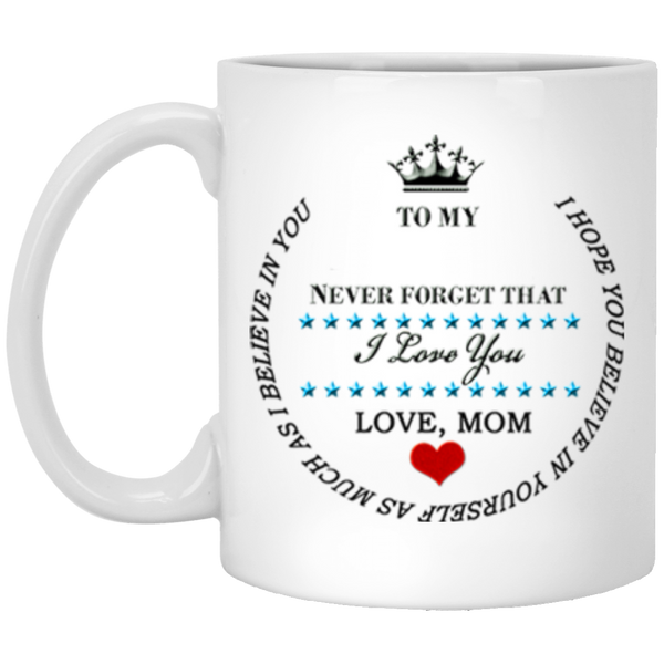 I Love You XP8434 11 oz. White Mug