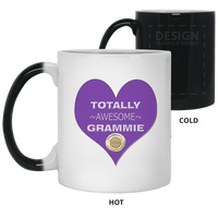 grammie purple 21150 11 oz. Color Changing Mug