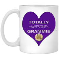grammie purple XP8434 11 oz. White Mug