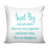 D)Personalize - Sweet Baby Pillow