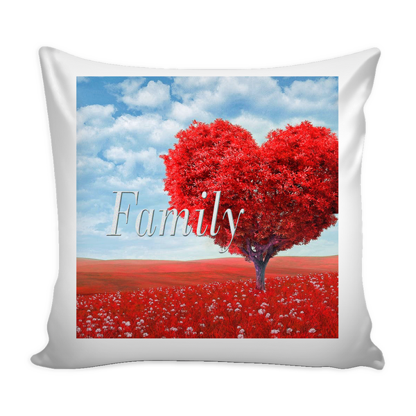 D)Personalize Family Tree Pillow/Cover