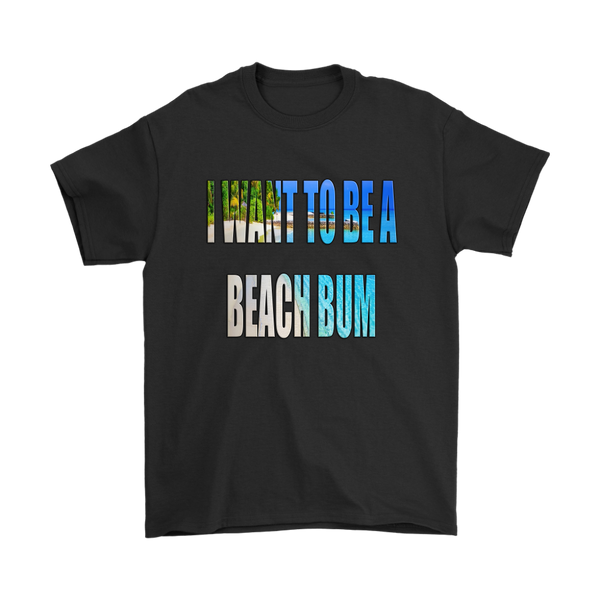 Beach Bum Video Photo Scan Shirt