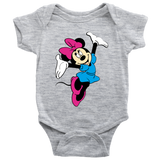 MINNIE PERSONALIZED ONESIE