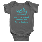 Sweet Baby Boy- Personalized Onesie
