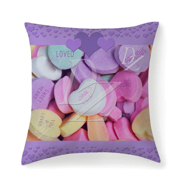 D)Personalize a Candy Pillow/Cover