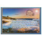 Memorial Cards/Canvas with Optional Video Photo Print