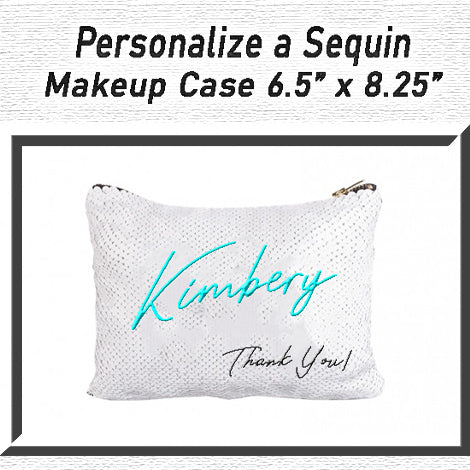 Personalize a Sequin Bag