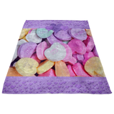 Candy Heart - FLEECE BLANKET