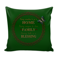 B)Family Pillow