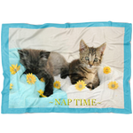 Kitten Nap Time-Fleece Blanket