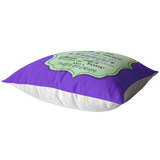 SISTER PURPLE PILLOW