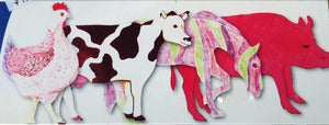 Farm Animal Fingerpaint Paper | Roylco