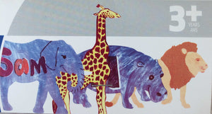 Zoo Animal Fingerpaint Paper | Roylco