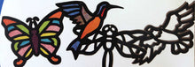 Stained Glass Frames | Birds Butterfly Dragonfly | Roylco