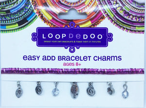 Easy add bracelet charms Loopdedoo