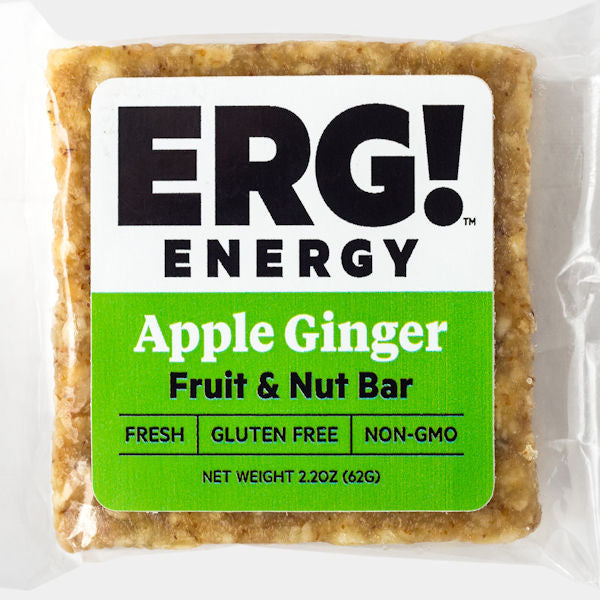 Apple Ginger ERG! Fruit & Nut Bar