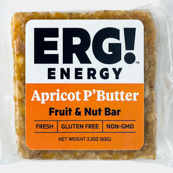 Apricot P'Butter ERG! Fruit & Nut Bar