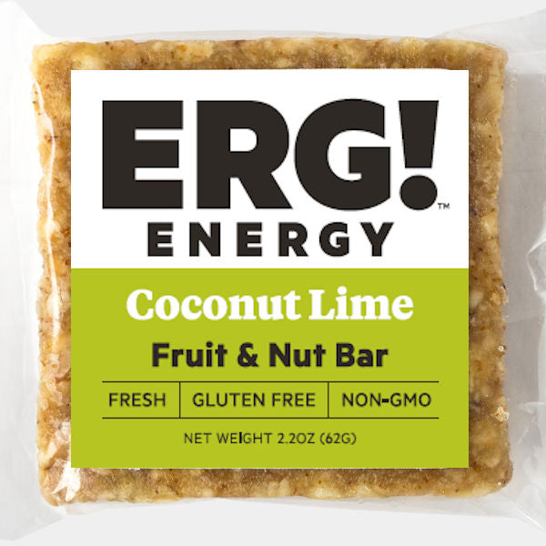 Coconut Lime ERG! Fruit & Nut Bar