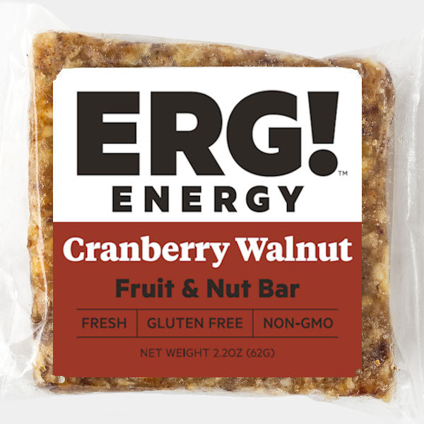 Cranberry Walnut ERG! Fruit & Nut Bar
