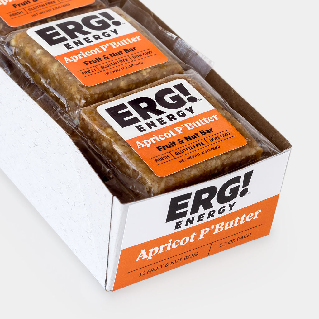 Apricot P'Butter ERG! - Box of 12 Bars