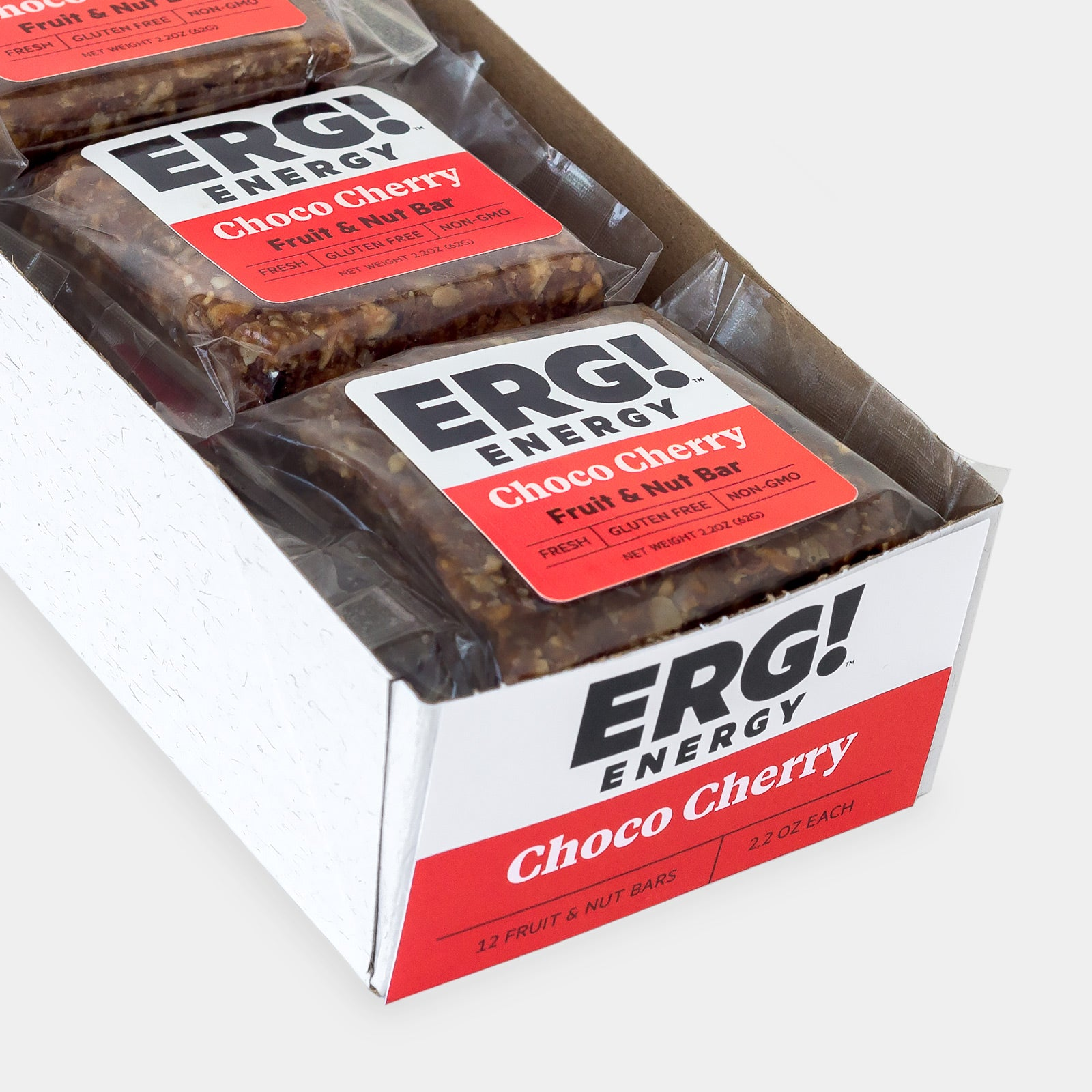 Choco Cherry ERG! - Box of 12 Bars