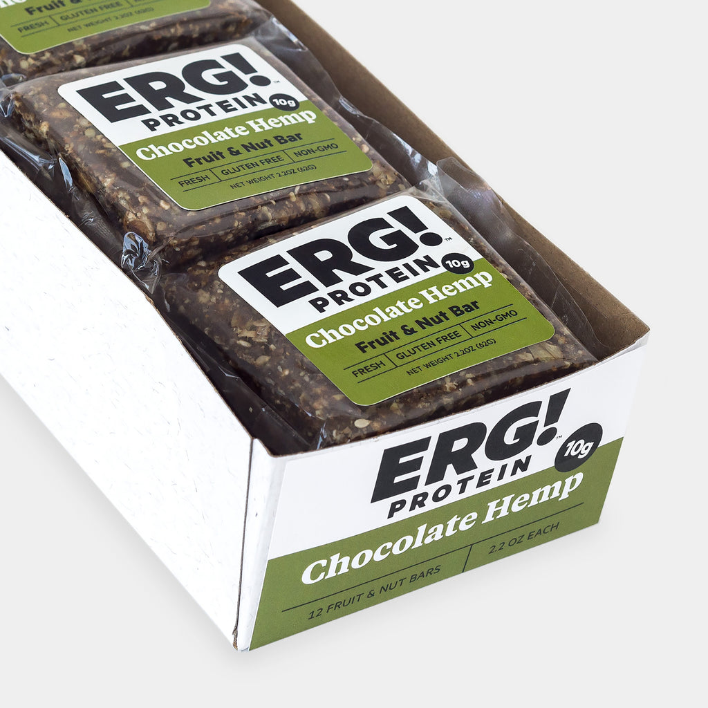 Chocolate Hemp ERG! - Box of 12 Bars
