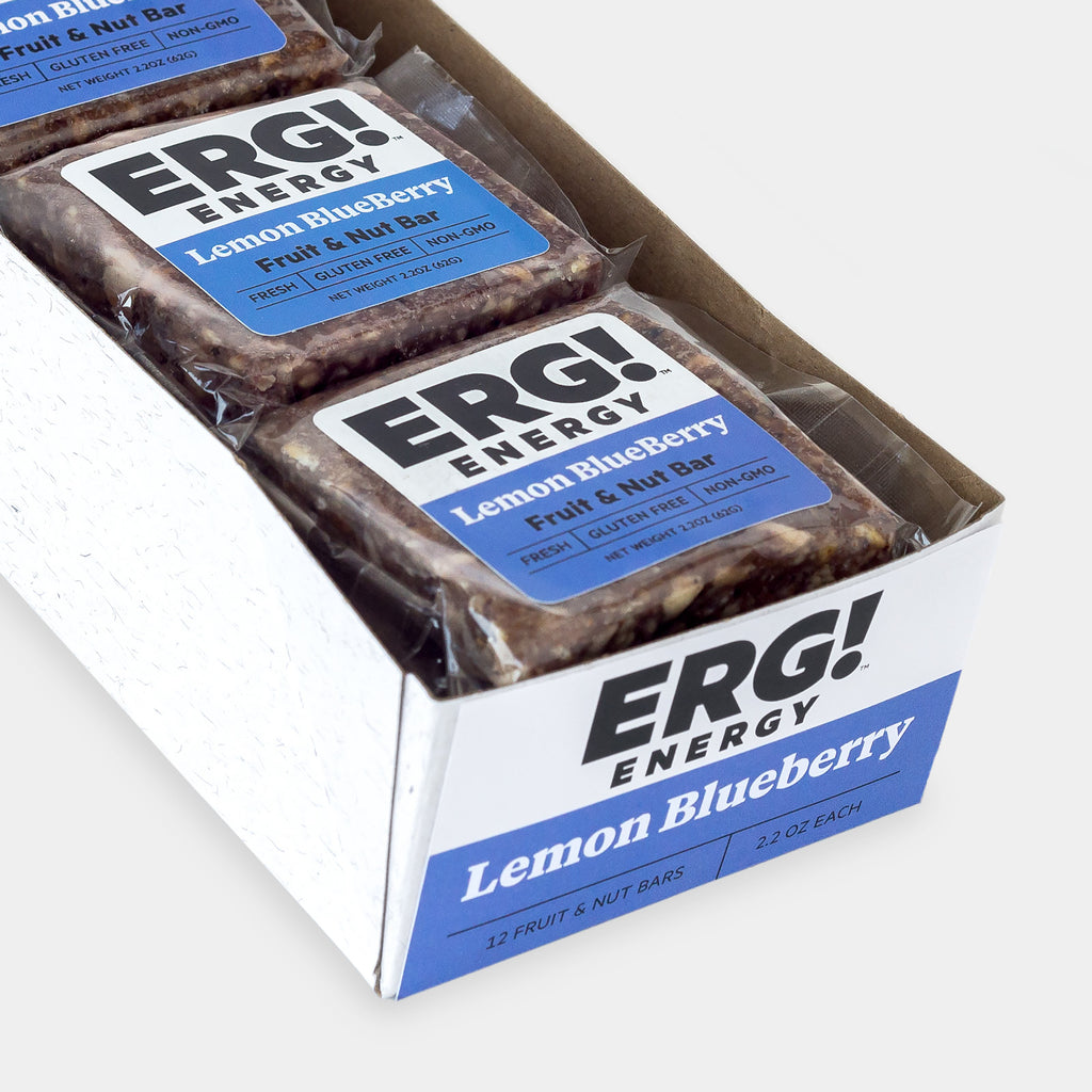 Lemon Blueberry ERG! - 12 Bar Box