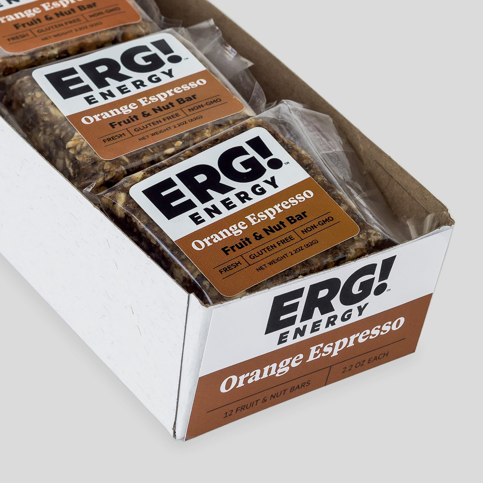 Orange Espresso ERG! - Box of 12 Bars