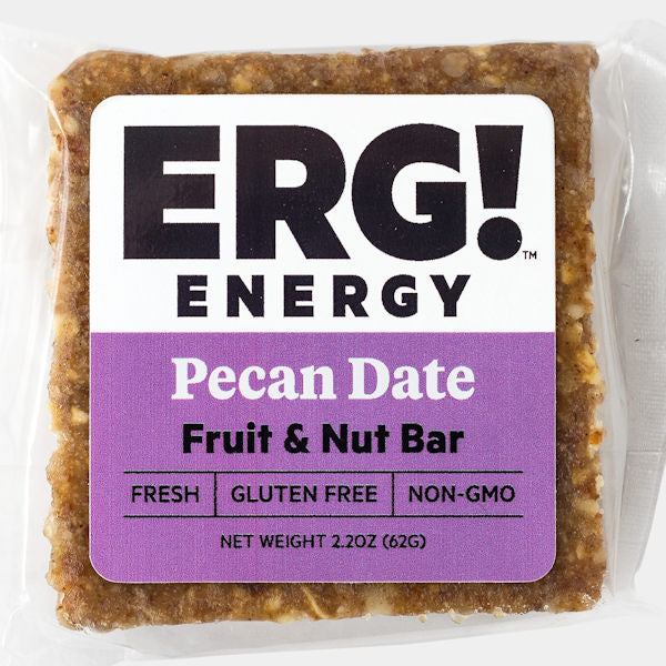 Pecan Date ERG! Fruit & Nut Bar