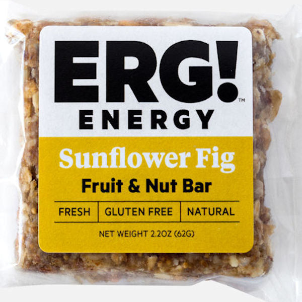 Sunflower Fig ERG! Fruit & Nut Bar