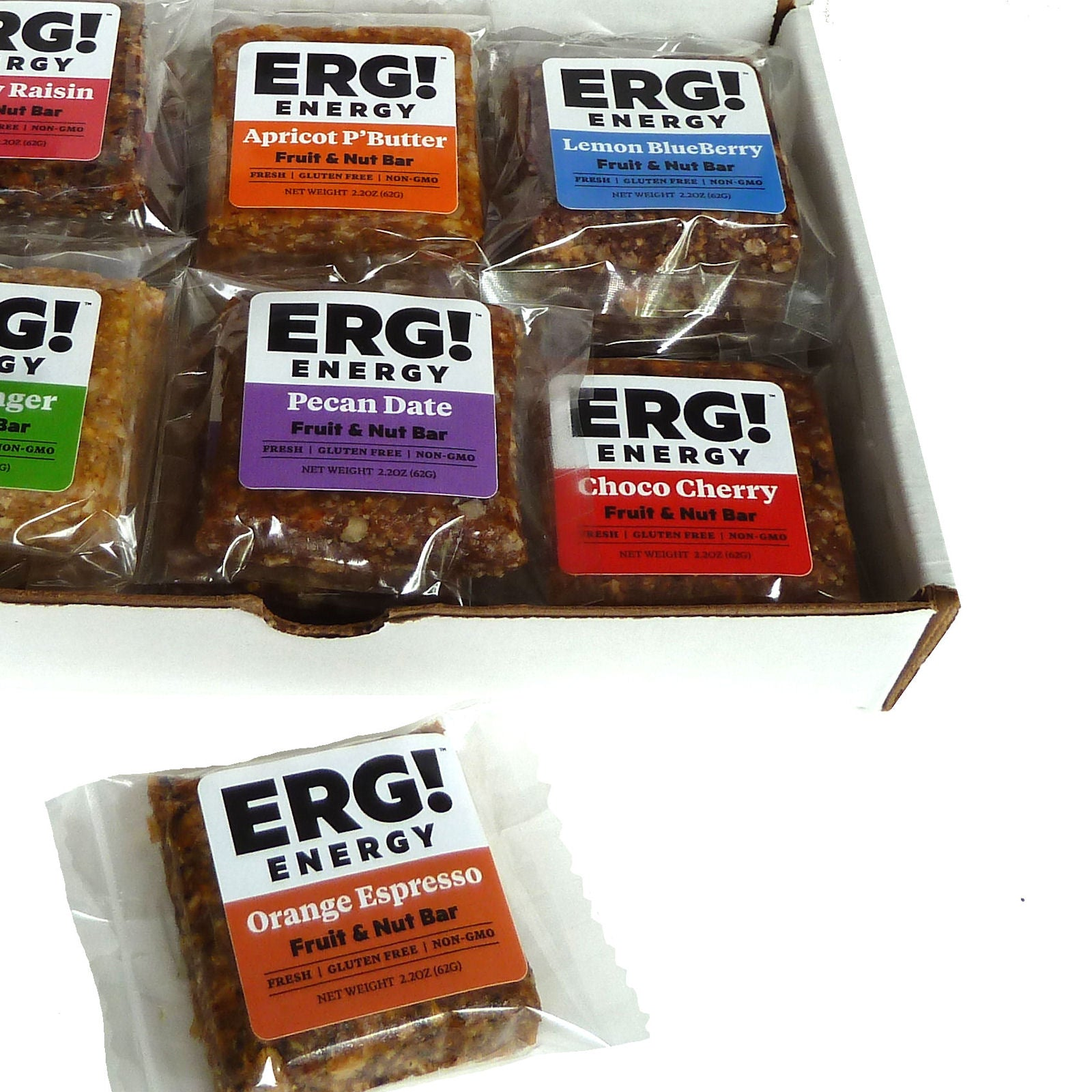 Subscription - 18 ERG! Bars Each Month for 3 Months