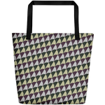 Baths of Caracalla Mosaic Beach Bag