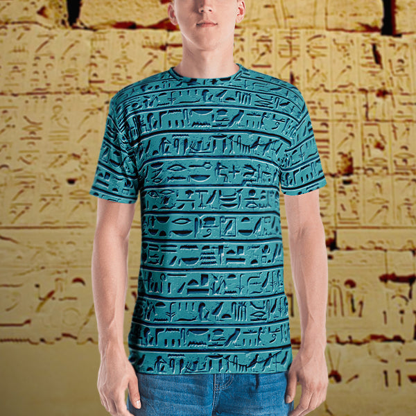Egyptian Faience Hieroglyphics
