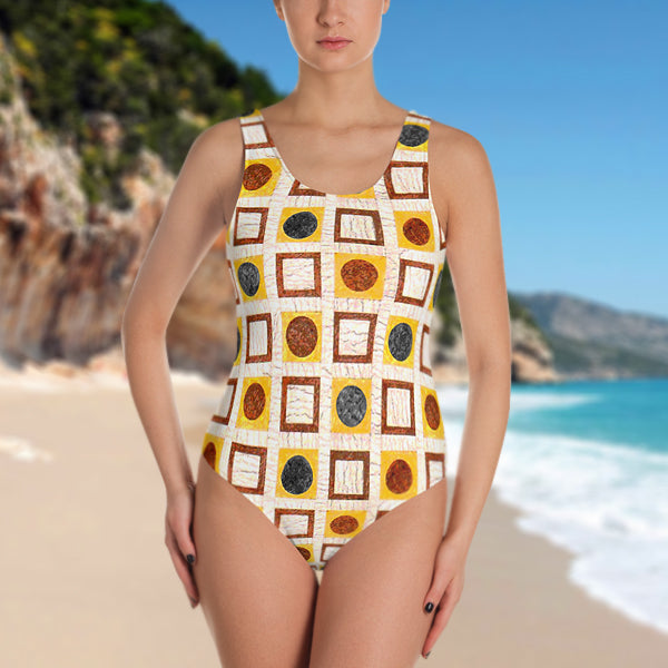 Pantheon Paving One-Piece Swimsuit