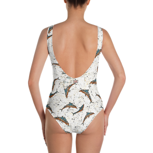 Akrotiri Dolphins One-Piece Swimsuit