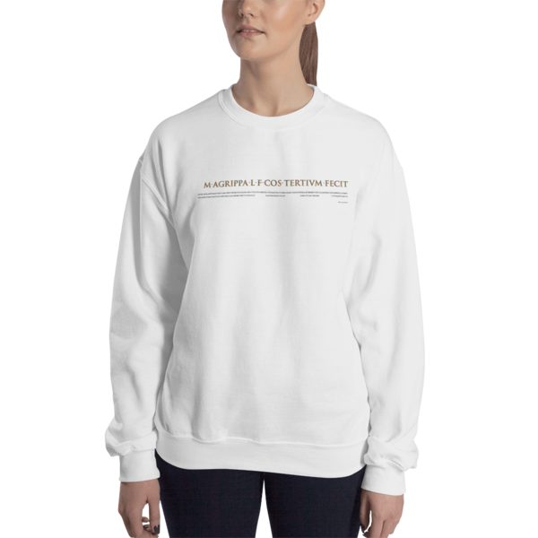 Pantheon Inscriptions Sweatshirt
