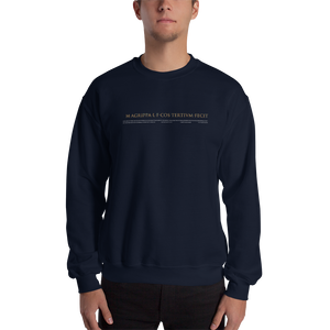 Pantheon Inscriptions Sweatshirt (Dark)