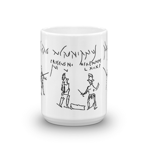 Gladiator Graffito Mug
