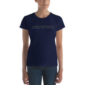 Pantheon Inscriptions (Women's Dark)